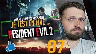 Je test en live ... Resident Evil 2 Remake Demo #ps4share