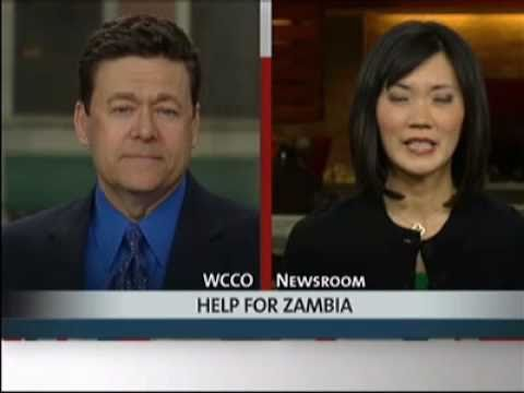 Action for Children Zambia's Mama Carol on CBS WCCO TV