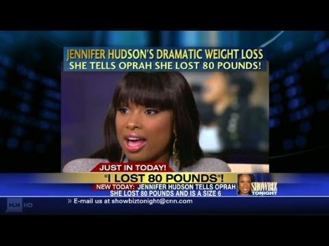 HLN: Jennifer Hudson: 'I lost 80 pounds'