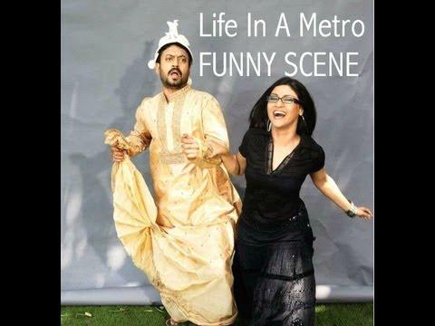 Life In A Metro I Funny Scene I Irrfan Khan & Konkana Sen Sharma...