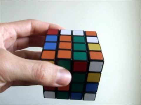 Como resolver o cubo mágico 4x4x4: Centros - Parte 2
