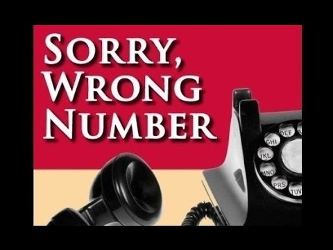 SUSPENSE -- SORRY WRONG NUMBER (11-18-48)