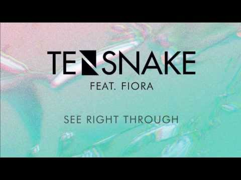 Tensnake feat  Fiora. - See Right Through (Original Mix)