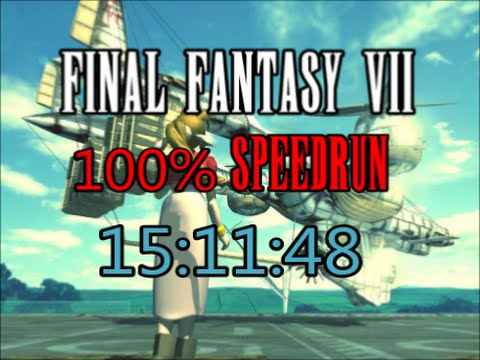 Final Fantasy VII : 100 Speedrun in 15:11:18 WR