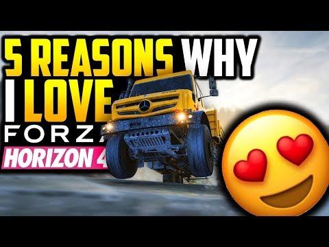 5 Reasons Why I LOVE Forza Horizon 4