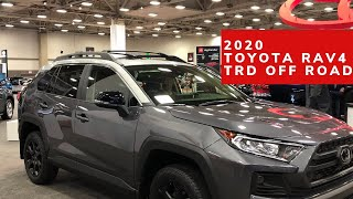 Sneak Peek: 2020 Toyota RAV 4 TRD Off Road