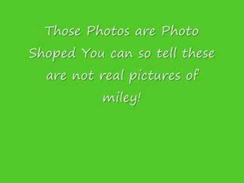 Miley Cyrus - Fake Pictures!!!