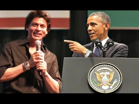 Shahrukh Khan Reacts To Barack Obama Speech In India 2015