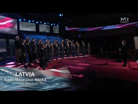 Latvia - LIVE - Choir Maska - Pērkontēvs - Semi-Final - Eurovision Choir 2019 (HQ)