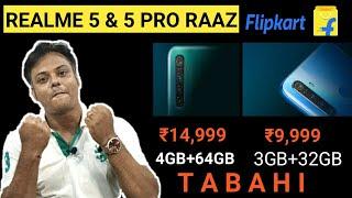 Realme 5 & Realme 5 Pro True Upgrade | Realme 5 & Realme 5 Pro Confirmed Specs & Price |