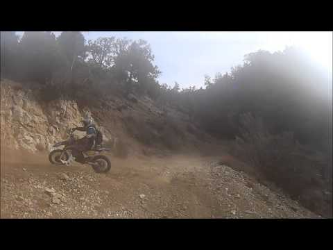 KTM 500 RIDE, Frazier Park OHV to Gorman.
