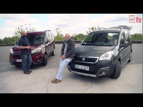 Auta bez ściemy - Fiat Doblo kontra Peugeot Partner