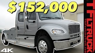 Move Over, Dually - This Freightliner M2 Big Rig Will Do EVERYTHING And So Much More!