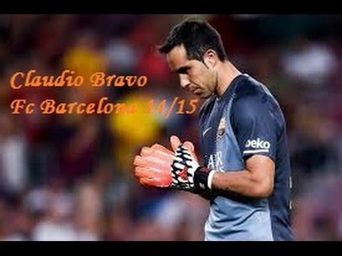 Claudio Bravo--The Best--HD-FC Barcelona 14-15