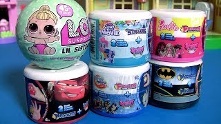 My Little Pony the Movie Fashems Stackems 2 Pack Cars3 DC Batman Mash'Ems Barbie Fash'ems Stack'Ems