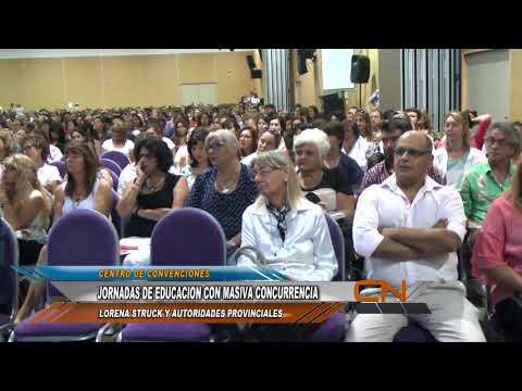 Las Jornadas Regionales de Educación convocan a más de 1.500 docentes en Concordia
