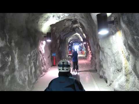 2011 Tunnel from Snowbird Ski Area to Alta in Utah