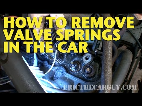How To Remove Valve Springs In The Car -EricTheCarGuy