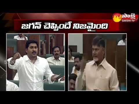 Jagan Vs Chandrababu | Leaders War of Words in AP Assembly Over AP Special Status || Sakshi TV