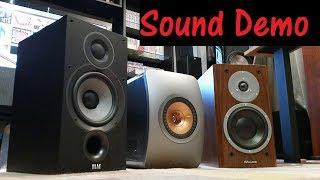 Stereo - Sound Demo 2- Elac B62 VS KEF LS50 VS Dynaudio 160 - Budget setup