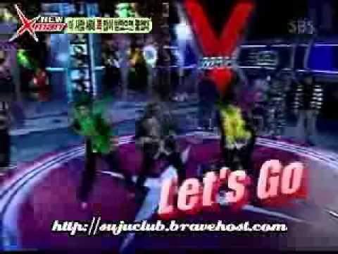 Super Junior 슈퍼주니어 xman Dance Battle (heechul Shiwon Donghae Shindong Sungmin) video