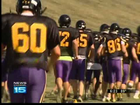 TEAM OF THE WEEK ANGOLA HORNETS FOOTBALL WANE-TV Video