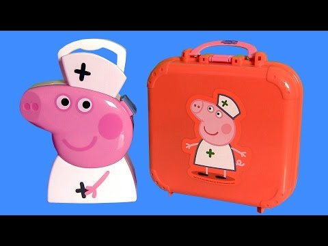 Peppa Pig Doctor Kit Play Doh Nurse Peppa Pig Medic Case – Kit Médico de Doctora Peppa Nickelodeon