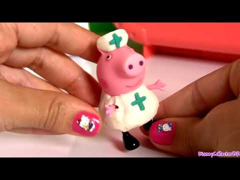 Peppa Pig Doctor Kit Play Doh Nurse Peppa Pig Medic Case - Kit Médico de Doctora Peppa PlayDough