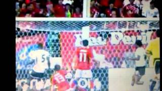South Korea vs Ghana 6/7/11 2-1 16 of 18 south korea 2nd goal
