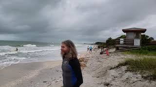 Surf waves thanks to Alberto - Lido Key Sarasota