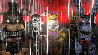"Five Nights at Freddy's 4 3D || FNaF 4 Free Roam ""Nightmare Animatronics"""