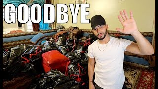 LAST VIDEO AT THE OLD ADAM'S FAMILY HOUSE!!!