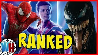All Spider-Man Movies Ranked From Worst To Best! (Including Venom)