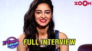 Ananya Panday on stalking Kartik Aaryan | Karan Johar's advice | Reaction on social media | Full