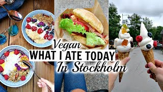 STOCKHOLM WHAT I ATE TODAY // VEGAN