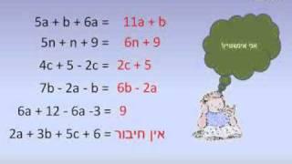 ביטויים שווי ערך, כינוס עברים דומים שעור 2