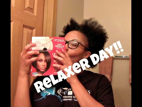Relaxer Day Fail!   Natural to Relaxed