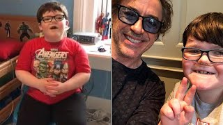 Robert Downey Jr. Shows Up When Terminally Ill Boy Asks Iron Man for Help