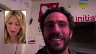 Kev Adams et Virginie Efira avec initiatives-coeur