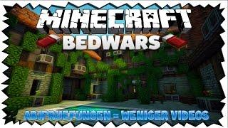 (Vielleicht) WENIGER VIDEOS WEIL WEGEN ABI?! - Minecraft Bedwars | TheNodop