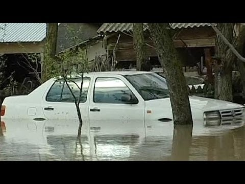 Flooding hits southern Romania - no comment
