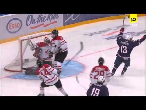 USA - CANADA 5:1 █ WJC 2013 Semi-Final █ IIHF U20 Semifinal 1/2