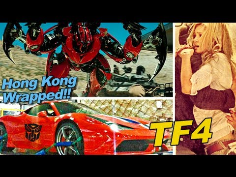 No Dino in Transformers 4.  Hong Kong filming WRAPPED - [TF4 News #56]