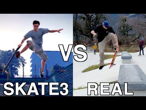 Skate 3 VS Real Life | Secret Tricks