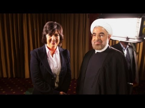 Raw: Hassan Rouhani Full Interview With Amanpour video