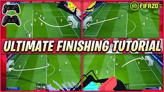 FIFA 20 FINISHING TUTORIAL - SECRET SHOOTING TRICKS TO SCORE GOALS EVERYTIME - SPECIAL TIPS & TRICKS