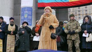 """""""Треба розвертати кулемети проти штабів та брехунів"""" - Ніна Матвієнко"""