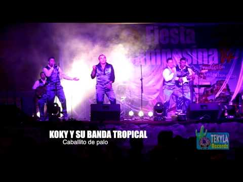 MIX Caballito de palo / Las dos camisas - Koky y su banda tropical - Tekyla Records