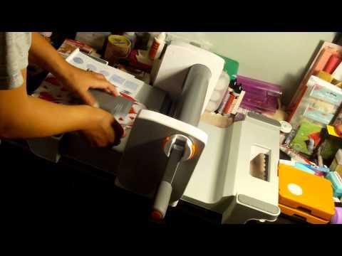 Fiskars Fuse - Cuts Thick Material. Fabric. Letterpress & Emboss