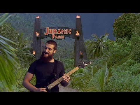 Jurassic Park theme on electric guitar